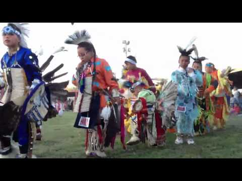 2012 Oglala Nation Pow Wow Evening Grand Entry Part 2