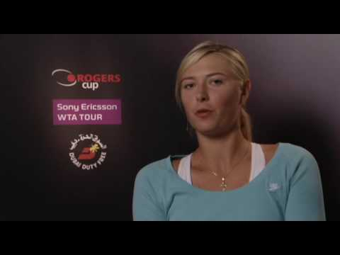 Sharapova Talks Fashion