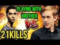 Evil Geniuses Sumail Tinker Mid Vs CCnC Mirana Playing With His Brother Yawar Dota 2 7 18 mp3