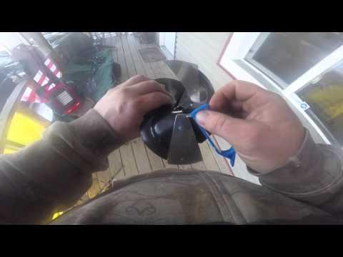 How to sharpen auger blades strike master
