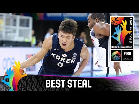 Angola V Korea - Best Steal - 2014 Fiba Basketball World Cup video