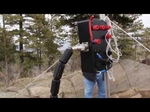 Morse code - QRP CW on the top of Genesee Mountain, Colorado