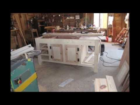 How To Make A Kitchen Island Unit Youtube Home Design