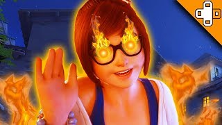 MEI IS ACTUALLY SATAN!!! Overwatch Funny & Epic Moments 384
