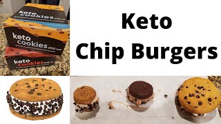 Keto Chip Burgers │Homemade Keto Ice Cream │Easy Keto Dessert Recipes │Keto Chipwhich