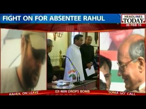 Kamal Nath, Digvijay Singh Vouch For Rahul As Congress President
