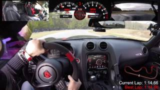 Stock 2016 Viper ACR Runs a 1:14.66 at Roebling Road Raceway (Track Record)