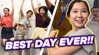 We Surprised A BuzzFeed Intern With The Best Day Ever