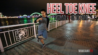 "How To Do The ""Heel Toe Knee"" Step 