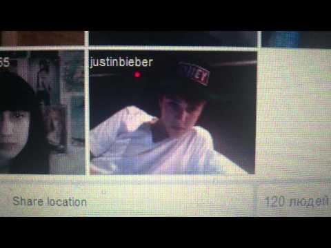 Justin Bieber On Tinychat Part 2 - Justin Bieber video - Fanpop