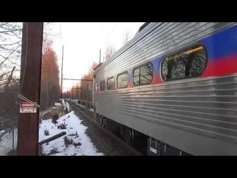 SEPTA Regional Rail Line Train 4344 With Silverliner...