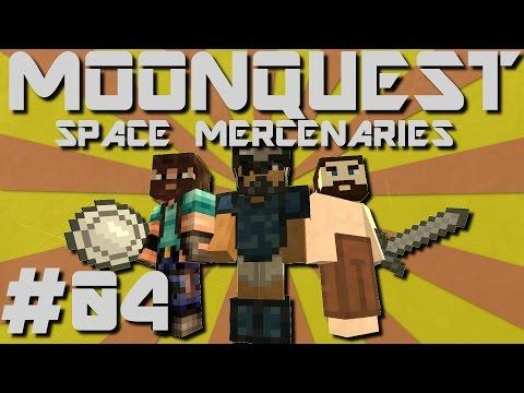 Minecraft MoonQuest - Space Mercenaries #04 - Blood Moon = BAD!