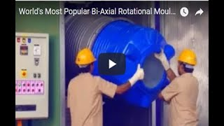 World's Most Popular Bi-Axial Rotational Moulding Machine Video from www.vinodrai.com