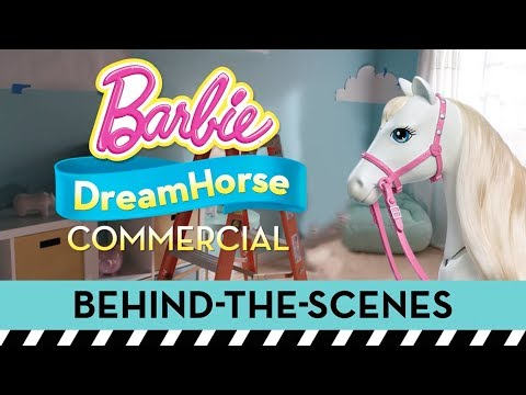 Behind the Scenes on a Commercial Shoot for Barbie® Dreamhorse™ | Barbie