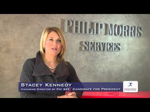 Stacey Kennedy, Managing Director of Philip Morris International CEE -- Candidate for President