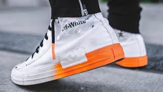 "Making custom ""Off-White"" Converse"