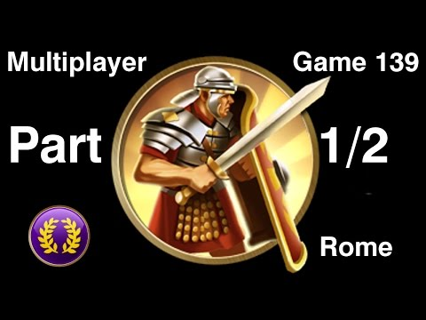 Civilization 5 Multiplayer 139: Rome [1/2] ( BNW 6 Player Free For All) Gameplay/Commentary