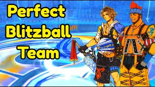 The Perfect Blitzball Team