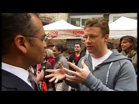 Jamie Oliver's beef with Michael Gove