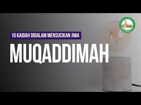 10 Kaidah Didalam Mensucikan Jiwa - Ustaz Ayman Abdillah hafizhahullah