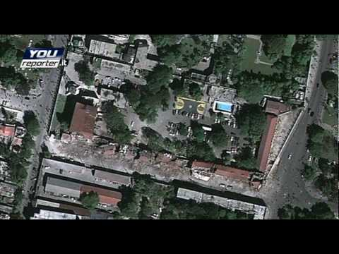 BEFORE AND AFTER the monster quake in Haiti: exclusive reconstruction