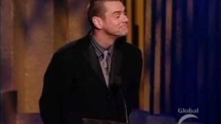 Jim Carrey Accepting His Canada Walk Of fame Award 2004 Part 2