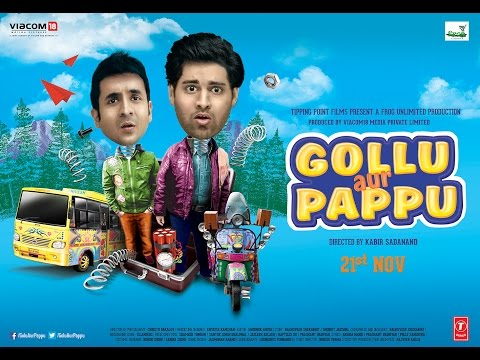 Gollu Aur Pappu - Official Trailer | Starring Vir Das And Kunaal Roy Kapoor | 21st Novemebr, 2014 video