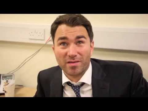 EDDIE HEARN REACTS TO TONY BELLEW'S WIN OVER NATHAN CLEVERLY - POST SHOW INTERVIEW