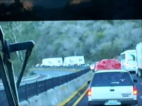 Terrible Accidente En La Autopista Tepic (nayarit), A Guadalajara (jalisco) Mexico.