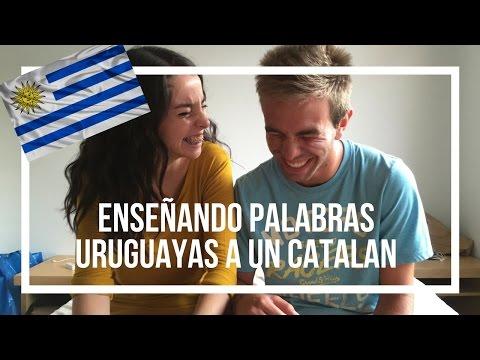 Enseñando palabras URUGUAYAS a un CATALAN