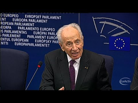 Israel's Peres urges EU to blacklist Hezbollah, calls Iran 'the greatest danger'