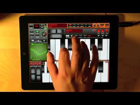 Magellan for iPad Tutorial 1: Dual Synths