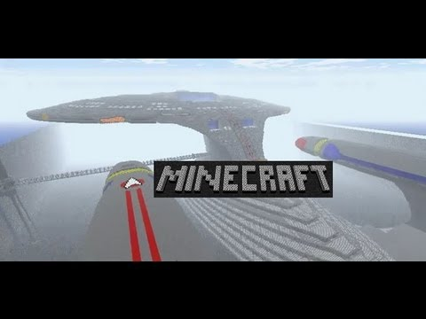 Star Trek Enterprise Minecraft Server Tour