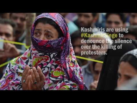 Violent clashes erupt in Indian Kashmir after killing of rebel leader