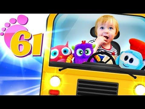Привет, Бьянка и Маша Капуки - Игры для детей - Автобус.