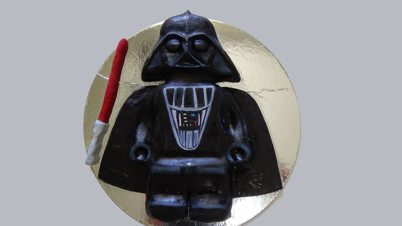 How To Make An Easy Darth Vader Cake