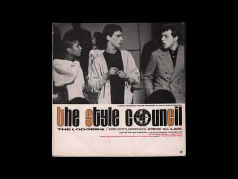 """The Style Council Featuring Dee C. Lee - The Lodgers 12"""" Single"""