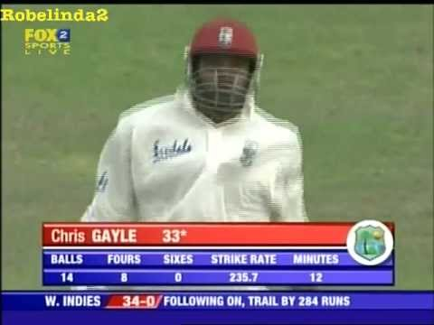 6 Fours In An Over By Chris Gayle video