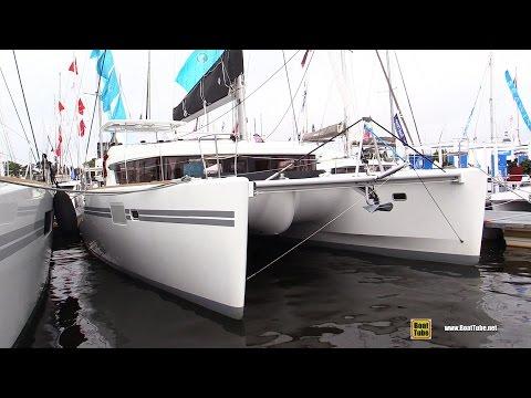 2017 Lagoon 450 S Catamaran - Deck and Interior Walkaround - 2016 Annapolis Sailboat Show