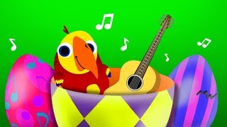 Surprise Eggs For Kids | English Words - Musical Instruments | Animals Collection | ABC Fun English