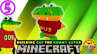 Ryan's World:  Gus the Gummy Gator in Minecraft Life!  [Part 05 of 09]