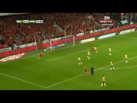 All Goals and Highlights | Belgium 2:0 Australia (04.09.2014)