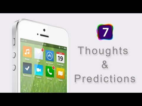 iOS 7 My Thoughts & Predictions (WWDC 2013)