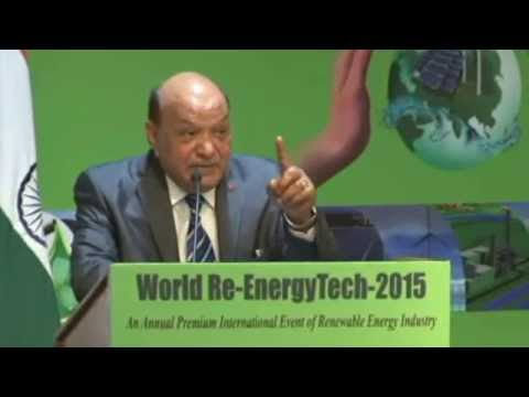 Vote of Thanks by Dr. Anil K. Garg, President, World Renewable Energy Technology Congress & Expo