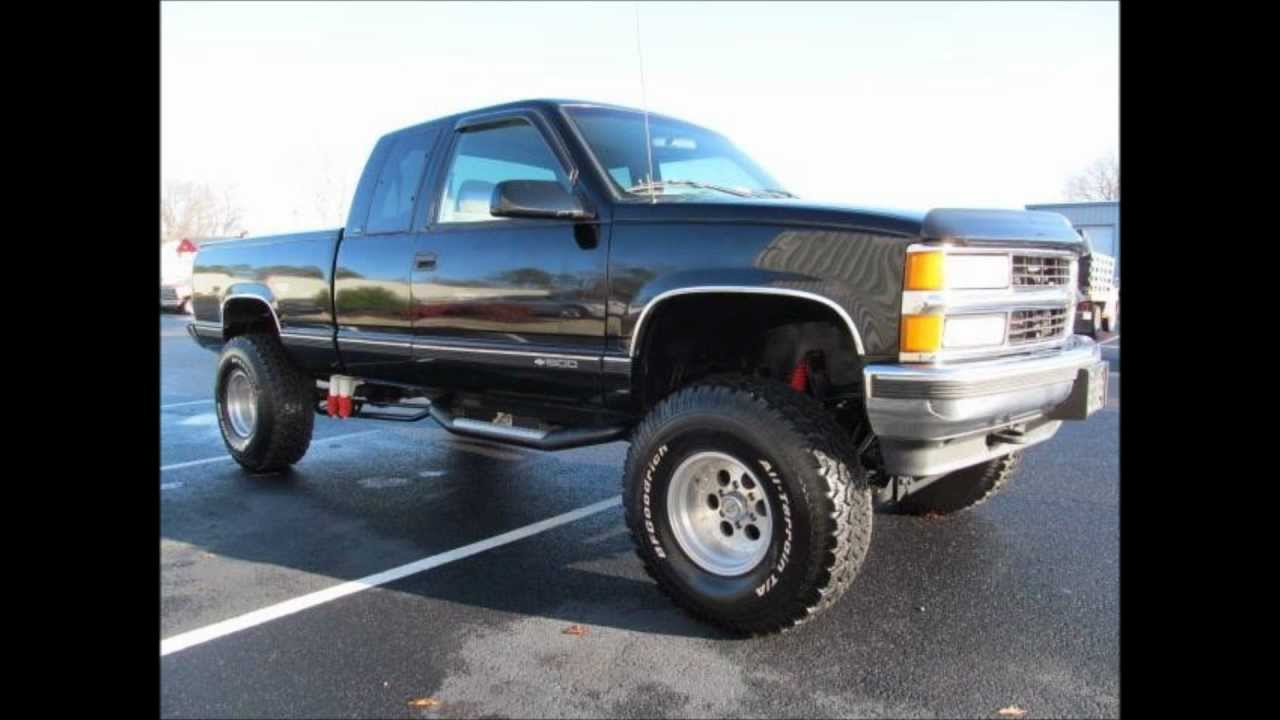 1996 Chevrolet K1500 Cheyenne Lifted Truck For Sale - YouTube