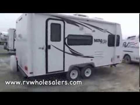 2011 Rockwood Mini Lite 1809S Travel Trailer RV Camper From RVWholesalers 108057 - Espresso