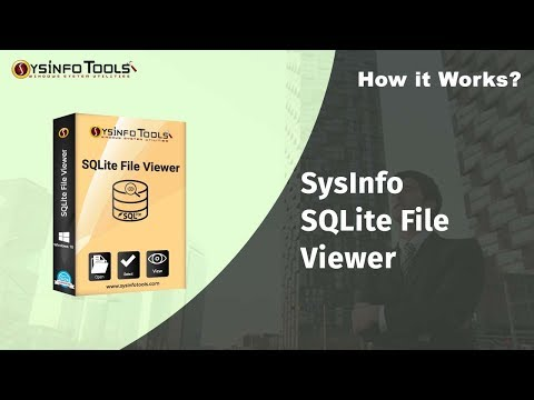 How to Open & Read SQLite Database file of SQLite3 With SysInfo SQLite Viewer