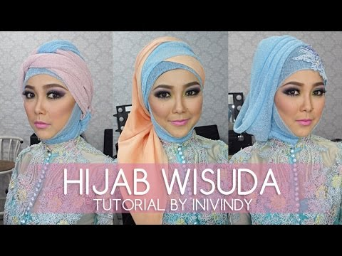 media hijab tutorial wisuda