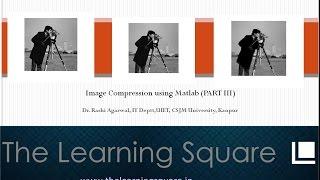 Image compression part 3 (JPEG algorithm) using MATLAB