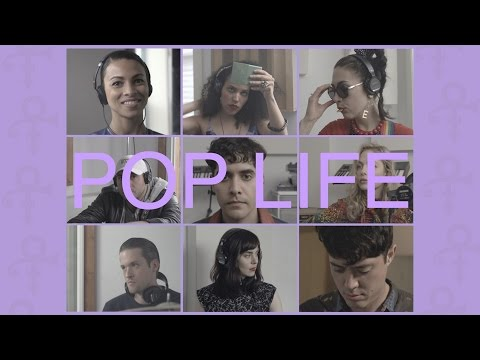 Neon Indian and Friends Pop Life (Prince) synthpop music videos 2016